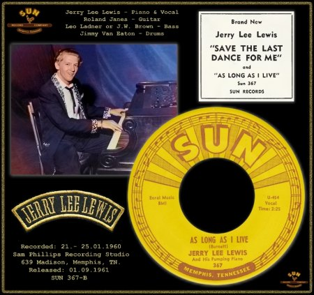 JERRY LEE LEWIS - AS LONG AS I LIVE (11) [MASTER TAKE 3 TRACK B]