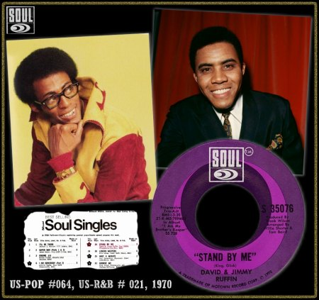 DAVID & JIMMY RUFFIN - STAND BY ME