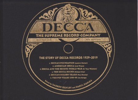 The Story Of Decca Records 1929 - 2019