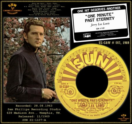 JERRY LEE LEWIS  - ONE MINUTE PAST ETERNITY (3)