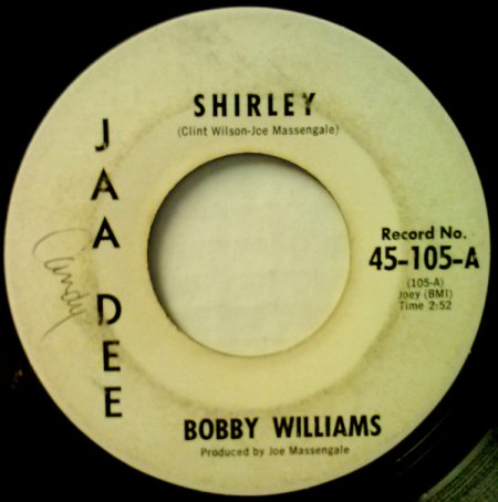 BOBBY WILLIAMS & THE NIGHTLIFTERS