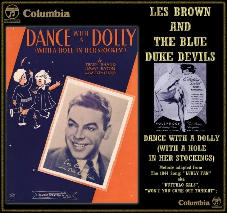 LES BROWN & THE DUKE BLUE DEVILS - DANCE WITH A DOLLY (WITH A HOLE IN HER STOCKING)