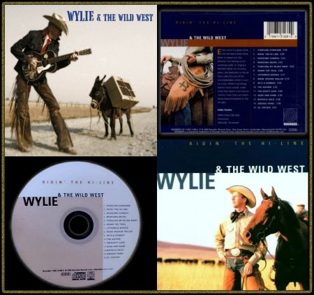 WYLIE & THE WILD WEST ROUNDER CD 1661-3168-2