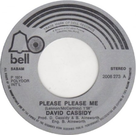 PLEASE PLEASE ME - Coverversionen