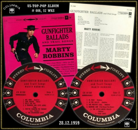 MARTY ROBBINS COLUMBIA LP CS-8158