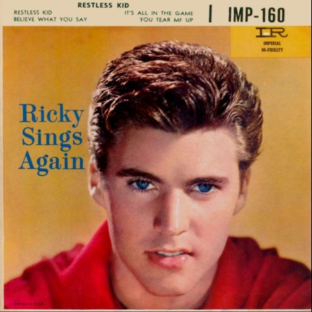RICKY NELSON IMPERIAL EP IMP-160