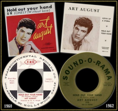 ART AUGUST - HOLD OUT YOUR HAND