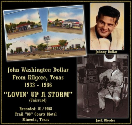 JOHNNY DOLLAR - LOVIN' UP A STORM