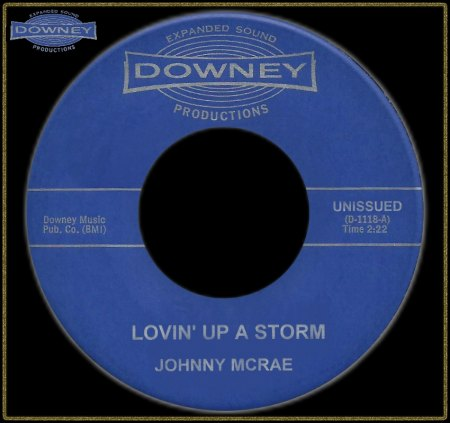 JOHNNY MCRAE - LOVIN' UP A STORM