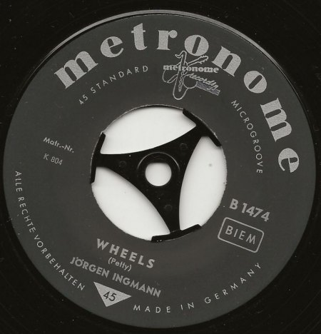 WHEELS - Original und Coverversion auf London + Decca