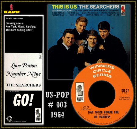 SEARCHERS - LOVE POTION NUMBER NINE