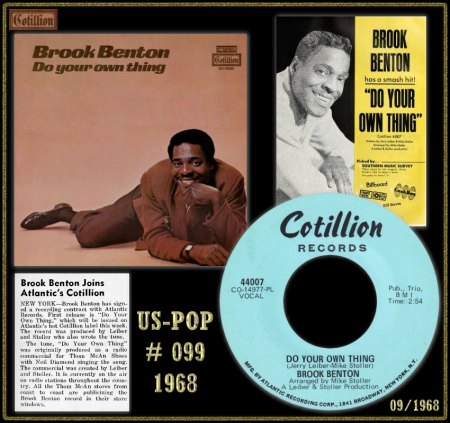 BROOK BENTON - DO YOUR OWN THING