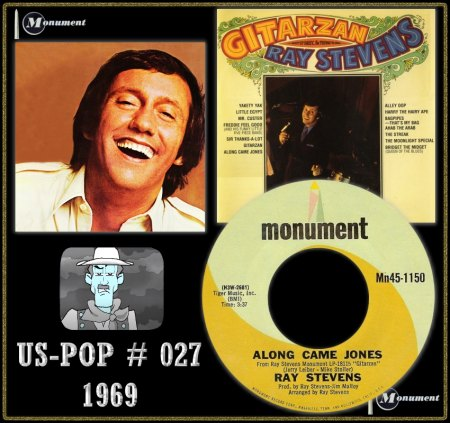 RAY STEVENS - ALONG CAME JONES