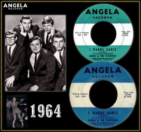 ANGIE & THE CITATIONS - I WANNA DANCE