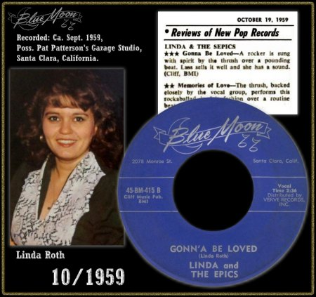 LINDA & THE EPICS - GONN'A BE LOVED