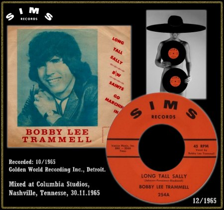 BOBBY LEE TRAMMELL - LONG TALL SALLY