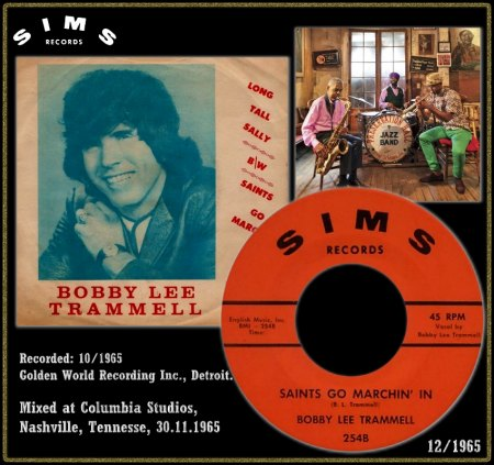 BOBBY LEE TRAMMELL - SAINTS GO MARCHIN' IN