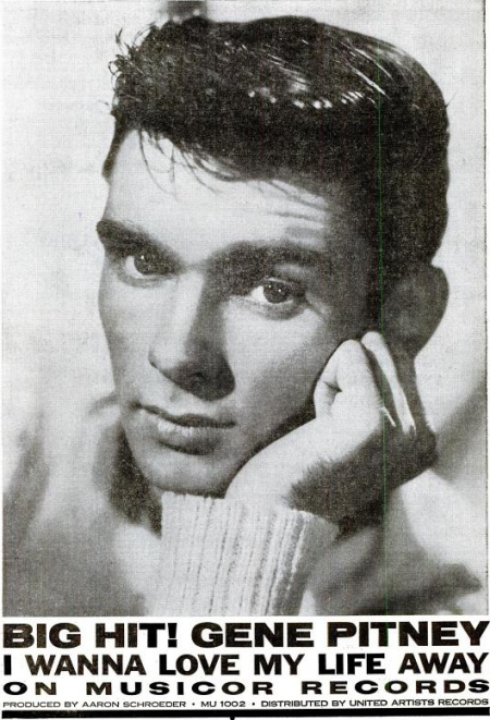 Gene Pitney - Musicor records - 1961-01-16.png