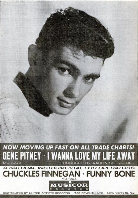 Gene Pitney - Musicor records - 1960-02-06.png