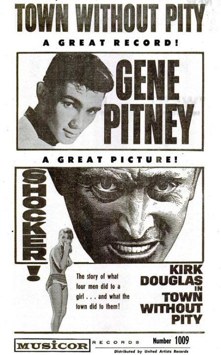 Gene Pitney - Musicor records - 1961-10-16.png
