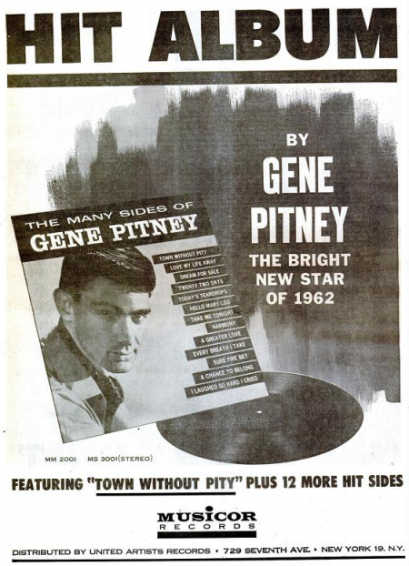 Gene Pitney - Musicor records - 1962-02-27.png