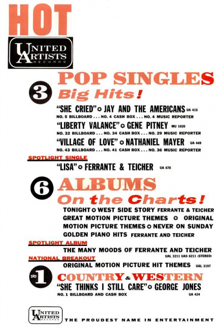 Gene Pitney - Musicor records - 1962-05-26.png