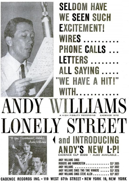 Andy Williams - Cadence records - 1959-09-07.png