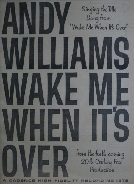 Andy Williams - Cadence records - 1960-02-29.png