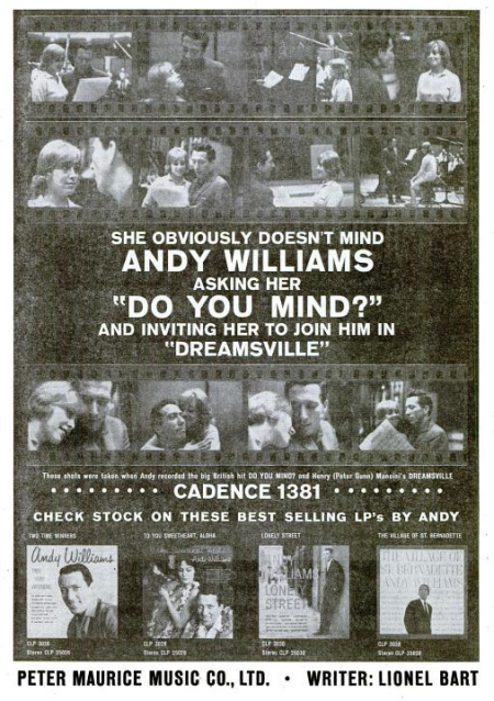 Andy Williams - Cadence records - 1960-05-30.png