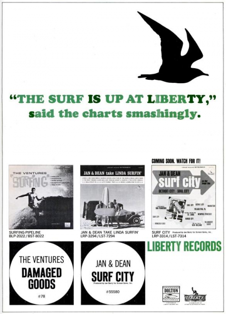 JAN & DEAN - VENTURES - DOLTON LIBERTY RECORDS - 1963-06-29.png