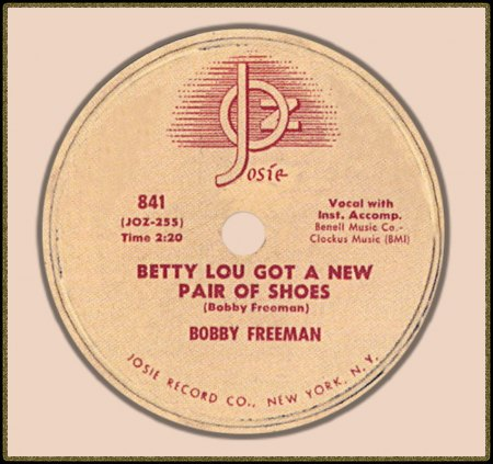 BOBBY FREEMAN - BETTY LOU GOT A NEW PAIR OF SHOES_IC#002.jpg