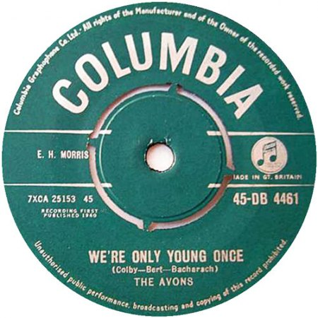 Avons03We re only Young Once Columbia 45 DB 4461.jpg