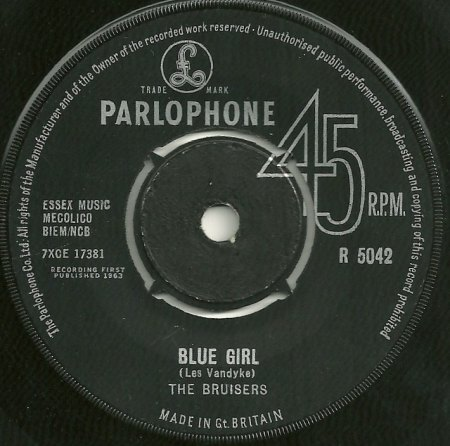 Bruce,Tommy04The Bruisers Blue Girl Parlophone R 5042.jpg