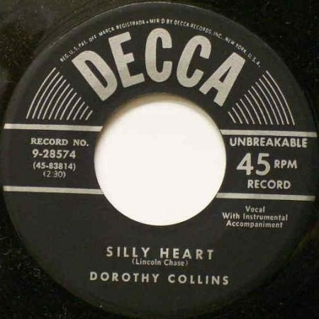 Collins,Dorothy21Decca 9-28574 Silly Heart.jpg