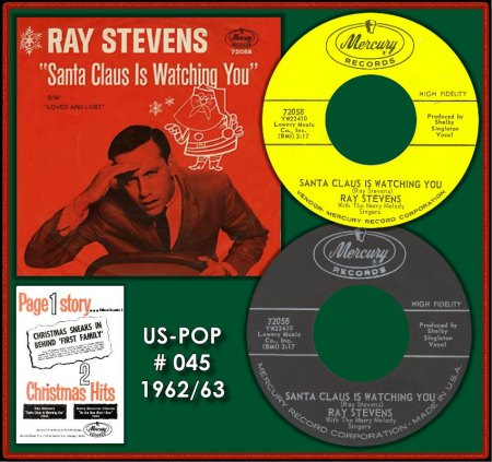 RAY STEVENS - SANTA CLAUS IS WATCHING YOU_IC#001.jpg