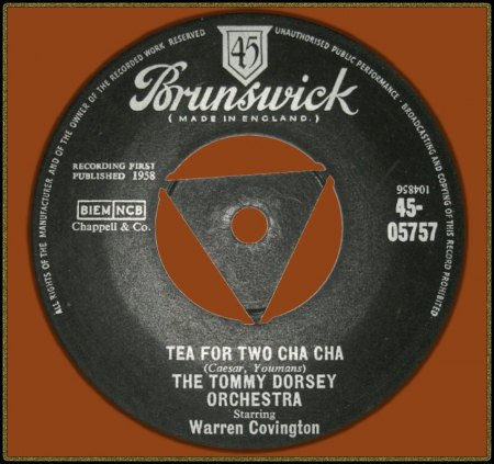 TOMMY DORSEY FEAT. WARREN COVINGTON - TEA FOR TWO CHA CHA_IC#004.jpg