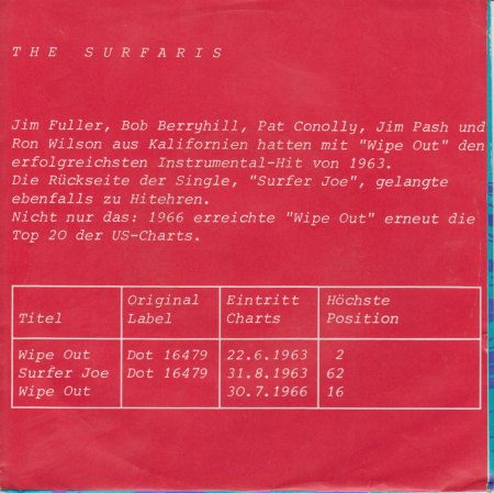 THE SURFARIS - Wipe out -CV RS-.jpg