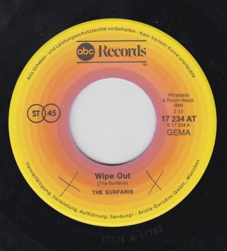 THE SURFARIS - Wipe out -A-.jpg
