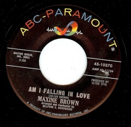 Brown,Maxine20Am I falling In Love ABC Paramount 45-10370.jpg
