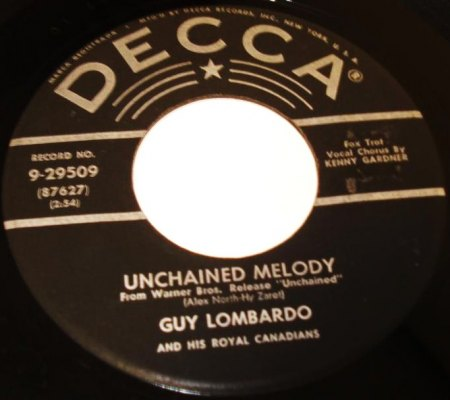 Unchained Melody10Guy Lombardo Decca 9-29509.jpg