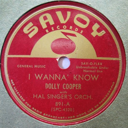 DOLLY COOPER - I wanna know -A-.jpg
