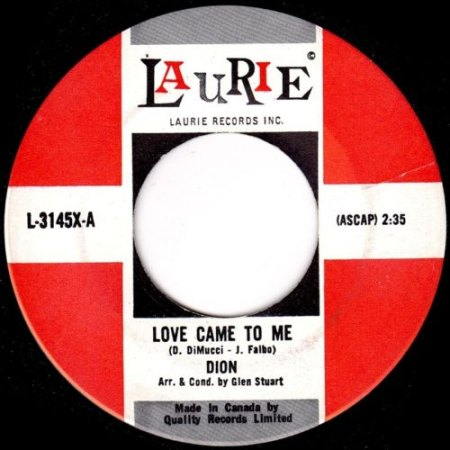 DION - Love came to me -A6-.jpg