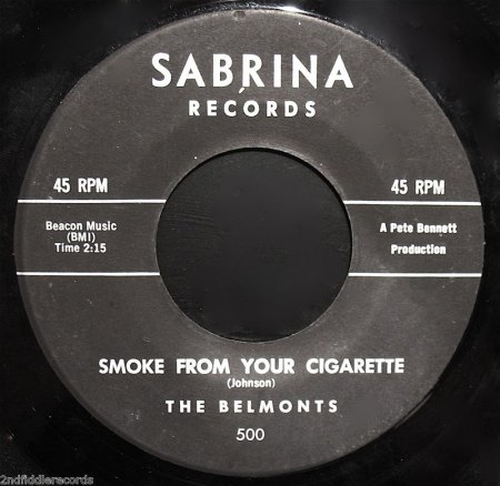BELMONTS - Smoke from your cigarette -B2-.jpg