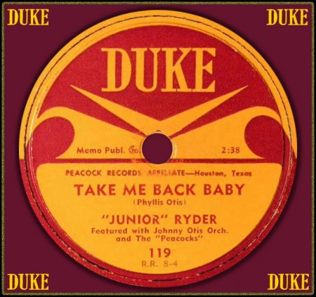 JUNIOR RYDER - TAKE ME BACK BABY_IC#002.jpg