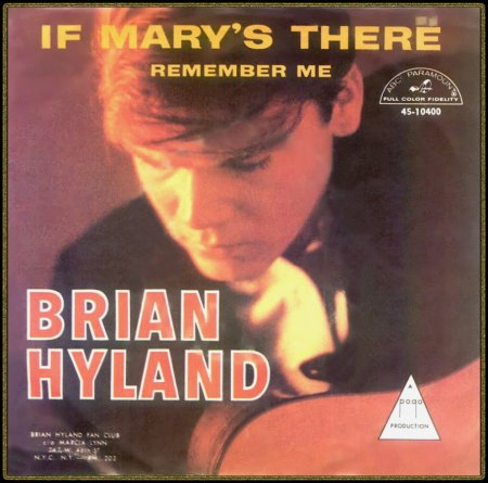 BRIAN HYLAND - IF MARY'S THERE_IC#003.jpg