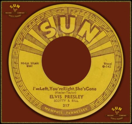 ELVIS PRESLEY - I'M LEFT YOU'RE RIGHT SHE'S GONE_IC#003.jpg