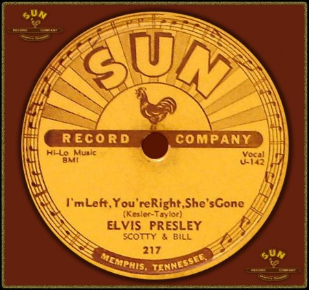 ELVIS PRESLEY - I'M LEFT YOU'RE RIGHT SHE'S GONE_IC#002.jpg