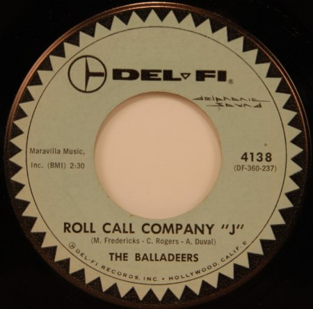 THE BALLADEERS - Rock Call Company -A-.jpg